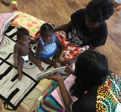 babies love reading